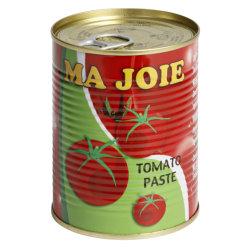 Conserves de fruits de bon goût Double concentré 400 g de pâte de tomates en conserve Utilisez des légumes frais