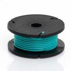 Odseven cubierta de silicona recubierto de caucho de alambre trenzado Core - 25M 26AWG mayorista verde