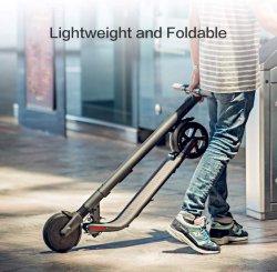 Neue Versions-leichter und faltbar, ausgebauter Bewegungsenergien-elektrischer Stoß-Roller, elektrischer Roller