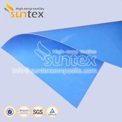Силиконовый Обрезиненные стекловолоконной ткани огнеупорные ткани