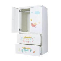 La impresión de dibujos animados de bebé de plástico de juguete en el armario armario armario Armario de almacenamiento con cajón