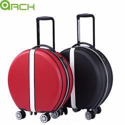 Nueva Moda famosa actriz mismo estilo Suitcase ABS equipaje de carro Viaje Ronda de lujo encantadora bolsa de equipaje cosméticos maleta dura Ronda Maleta de transporte