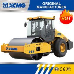 XCMG Officiel de la route 12 Tonnes rouleau Machine compacteur XS123 petit rouleau vibratoire tambour unique route Prix de vente