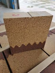 熱損失の少ないセメント産業用の緑色の耐火ブロック およびロアシェル温度