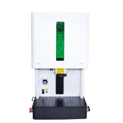 30W Gravure au laser à fibre optique et entièrement clos de la machine, la gravure de métal, facteur de sécurité élevé