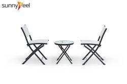 コーヒーテーブルの一定の円形の折りたたみ椅子