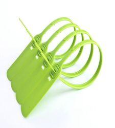 قفل أمان يمكن التخلص منه مانع تسرب بلاستيكي برقم تسلسلي