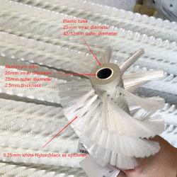 فرشاة تنظيف اللوحة الشمسية الصناعية من النايلون