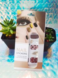 Professionelle 3D Nail Sticker Nail Dekoration Custom Designer Nail Art Aufkleber