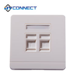 Faceplate 86 Tipo, 2 Pot