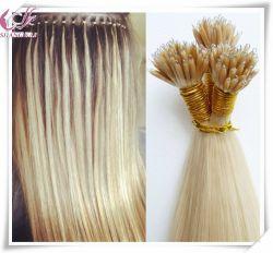 容易なループマイクロビードのNanoリングのクチクラの毛の拡張Remyの人間の毛髪のNanoリングの毛の拡張