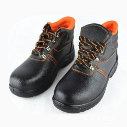 Coupe haute Steel Toe pour chaussures de sécurité de l'acide résistance alcalins à Guangzhou