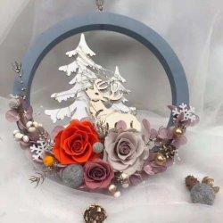 Boda moda mayorista de accesorios de decoración de flores a buen precio.
