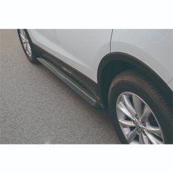 El pedal del lado negro de la ejecución de las placas de coche