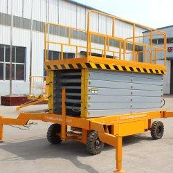 500kg de hydraulische Opheffende Lift van de Schaar van het Platform Elektrische Mobiele