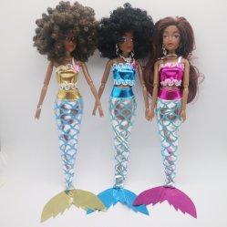 La peau noire poupées Fashion Doll poupées de plastique noir de jouets Toy Dolls poupées de l'Afrique