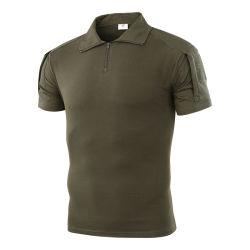 Esdy 군은 남자 Breathable 육군 전술상 Camo t-셔츠에 대항한다