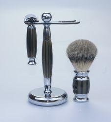 Support de Brosse de rasage du rasoir Yaqi Brosse réglée pour les hommes se raser