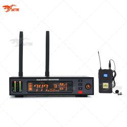 Draadloze Microfoon van het Enige Kanaal van de Diversiteit van Lavalier van ATX100/Wl93 de UHF Ware Digitale