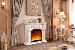 Elektrische Open haard van uitstekende kwaliteit van de Stijl van het Meubilair van het Huis de Europese met de Verwarmer van de Afdekplaat