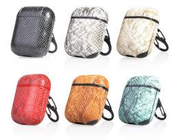China Proveedor de cuero de PU Portable llevar auriculares para Airpod
