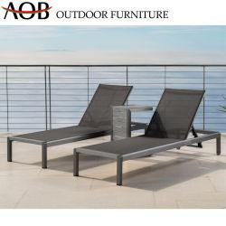 Современный открытый дворик Отель Домашняя мебель из алюминия Бич стул регулируемый Sun шезлонгами для загара