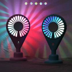 Светодиодный индикатор ручной мини вентилятор для поездки в походах и детям подарки