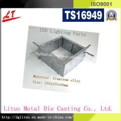 L'aluminium moulé sous pression, pièces du carter d'éclairage LED
