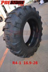 중국 산업 비스듬한 타이어 미끄럼 수송아지 타이어 로더는 긁는 도구 타이어를 16.9-28 17.5L-24 18.4-26 피로하게 한다
