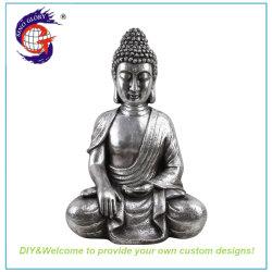 Sentarse en el Big Buddha Figurita para decoración templo religioso
