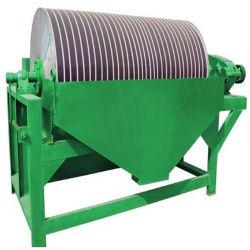 La séparation magnétique humide de l'étain minerai séparateur du tambour
