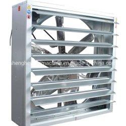 Mur d'échappement du ventilateur de soufflante de ventilation du ventilateur pour ventilateur axial ferme avicole industrielle de serre