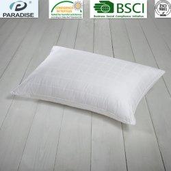 Cuscino molle e lanuginoso Hypoallergenic con l'oca bianca 100% del coperchio del cotone giù ed i cuscini della piuma