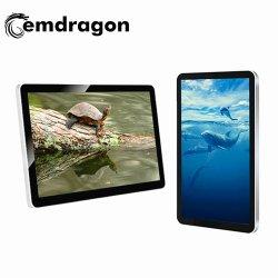 Android ou PC LED 32 pouces de la publicité commerciale l'écran TV à écran plat pour montage mural de publicité Tablet Media Player