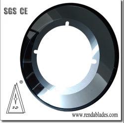 De carburo de tungsteno aleación de la cuchilla de corte circular de cartón corrugado cartón