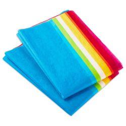Искусство Rainbow ткани бумага подходит для художественных ремесел цветы на день рождения праздник в подарочной упаковке декоративные