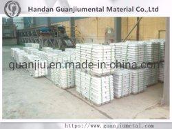 亜鉛はインゴット、亜鉛インゴット99.995%の使用できる特別な高い等級亜鉛インゴットに金属をかぶせる