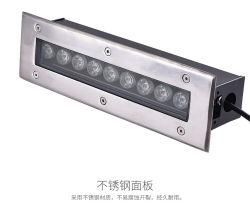 Projectores de LED Suqare Iluminação Exterior Inground LED Light Underground PI68