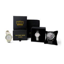 Feuille de papier de luxe Logo Fancy tiroir coulissant Watch Box