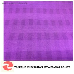 Polyester Spandex Fabric Cationic Check Chemical Fabric Water Proof für Garment