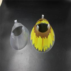 애완 동물 Elizabeth 조정가능한 처분할 수 있는 투명한 플라스틱 고리