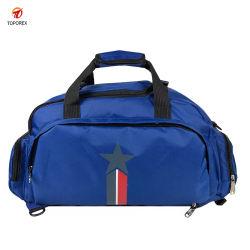 Vier Farben-Düffel-Schulter-Polyester-Beutel-Form-Handtasche