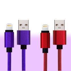 Haute qualité 1m à 8 broches du câble USB de charge pour l'iPhone cordon du câble de charge rapide de câbles de téléphone mobile