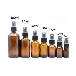 Leere Glasduftstoff-Großhandelsflasche 50 spray-Duftstoff-Flasche 20ml der ml-Spray-Glasflaschen-100ml Glas