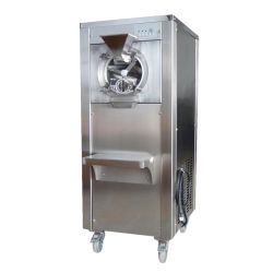 Stündliche 50 Liter Handelsstapel-Gefriermaschine italienische Gelato harte Eiscreme-Maschinen-