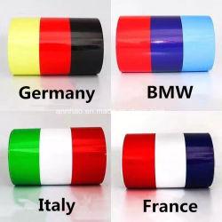 4 cores para a Opção Carro Stripe autocolantes do adesivo Bandeira de vinil Auto Adesivo do capô da linha de cintura