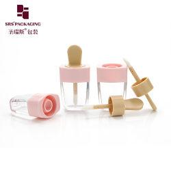 卸し売り空の装飾的な小型明確なカラーかわいいリップの光沢の容器