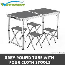 Multifunctionele Outdoor Picknick Camping Folding Table met Umbrella gat 16