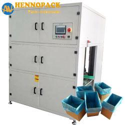 Grande velocidade do saco de polietileno na caixa de inserção de produtores de máquinas de embalagem para a indústria de pão enchendo a linha de embalagem