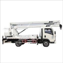 منصة عمل جوية للرفع الهيدروليكي مُثبَّتة بالشاحنة للبيع